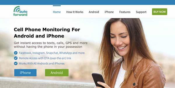 Auto Forward Phone monitoring