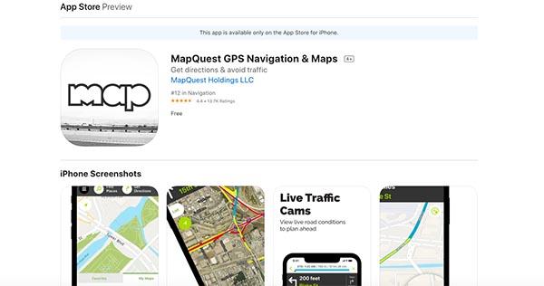 mapguest gps navigation