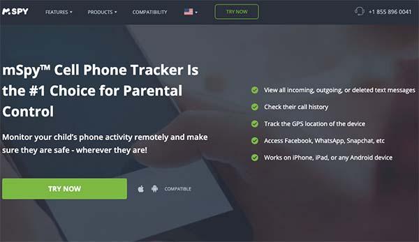 mSpy cell phone tracker