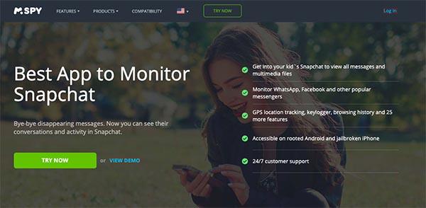 mspy monitor snapchat