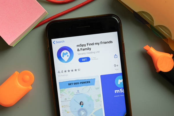 mSpy monitoring app