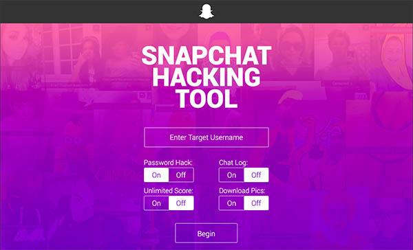 snapchat hacking tool