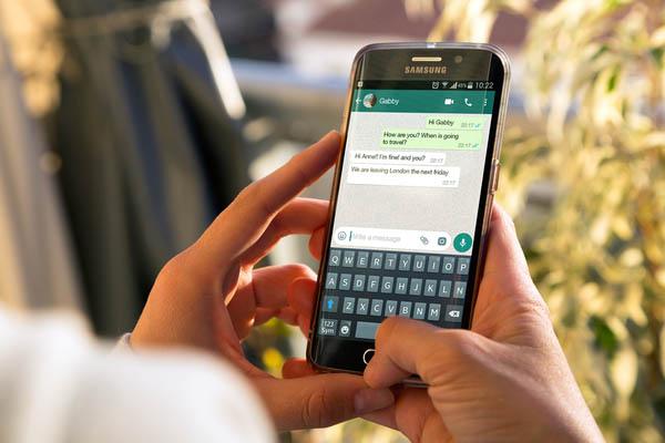 whatsapp messanges