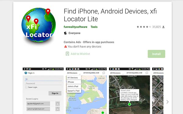 xfi phone locator
