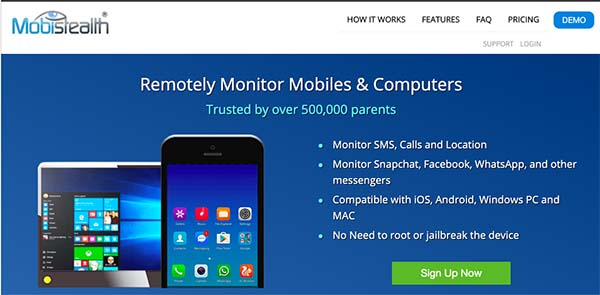mobistealth remotely monitor mobiles